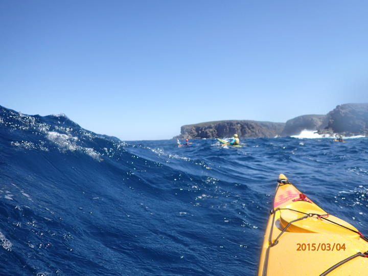 Approaching West Cape Howe Photo by Les Allen.