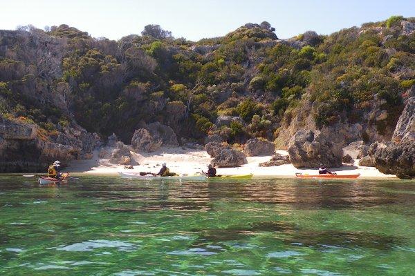 Garden Island Lunch Spot Sea Kayak Club Wa